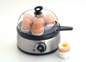 Steba Eierkocher mit weichgekochtem Ei